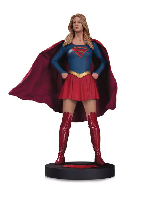 dc collectibles supergirl tv statue