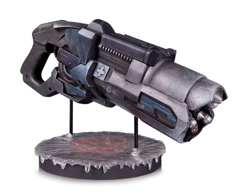 captain cold freeze gun prop replica