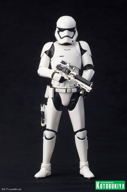 kotobukiya first order stormtrooper single pack