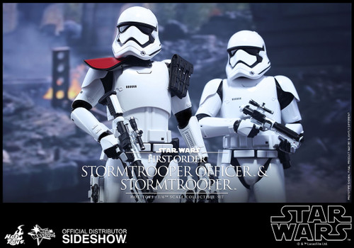 first order stormtrooper officer set hot toys
