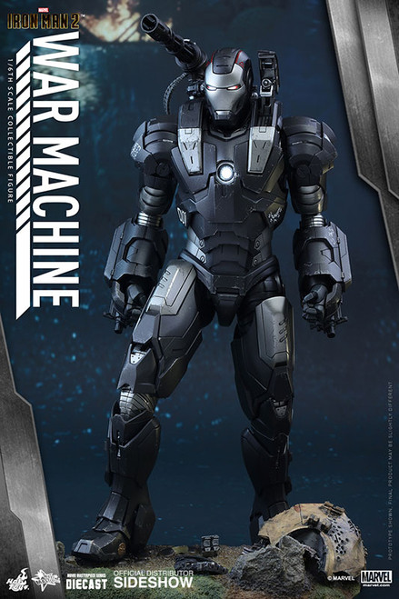 hot toys diecast war machine