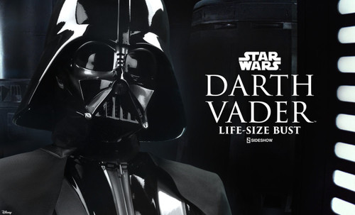 darth vader life size bust