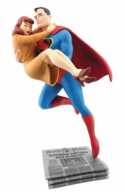 Fleischer superman lois lane statue
