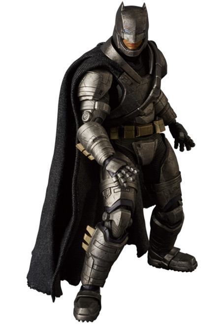 armored batman mafex