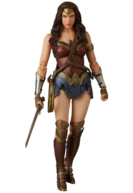 bvs wonder woman mafex figure