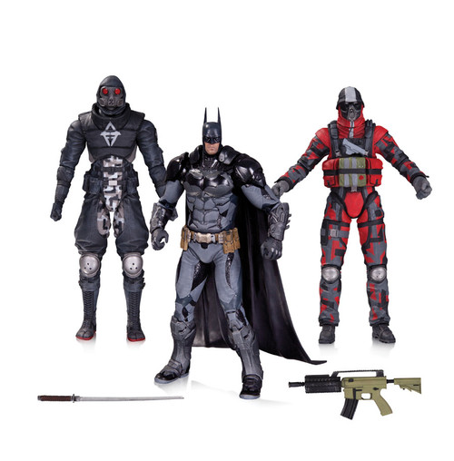 arkham batman thugs figures