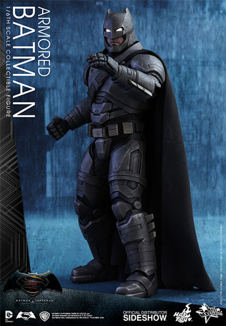 hot toys armored batman sixth scale figure-a