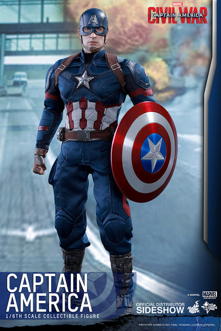hot toys civil war captain america figure