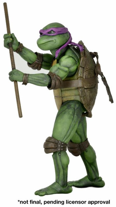 neca tmnt donatello quarter scale figure
