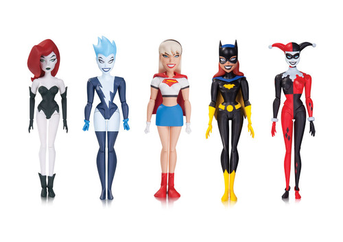 batman animated girls night out figures