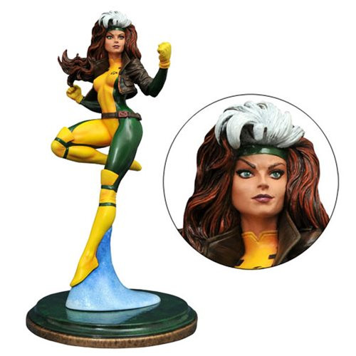marvel premier collection rogue statue