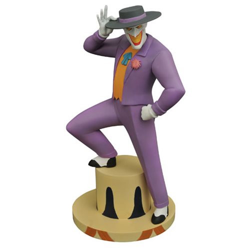 batman animated joker statue