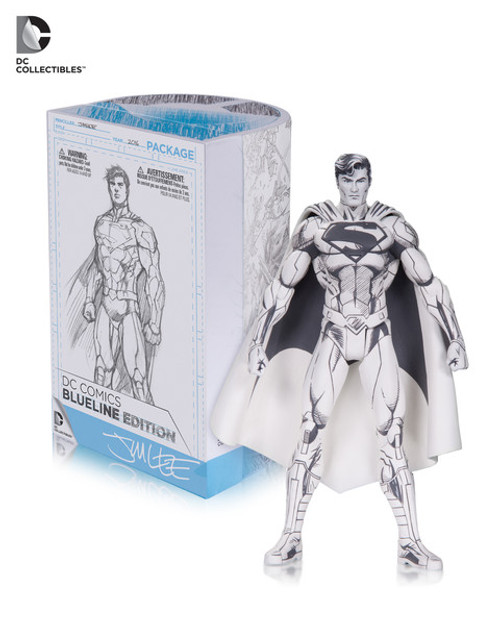 blueline superman action figure
