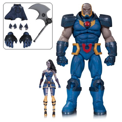 dc comics icons darkseid grail action figure