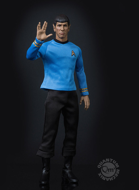 qmx star trek spock sixth scale figure