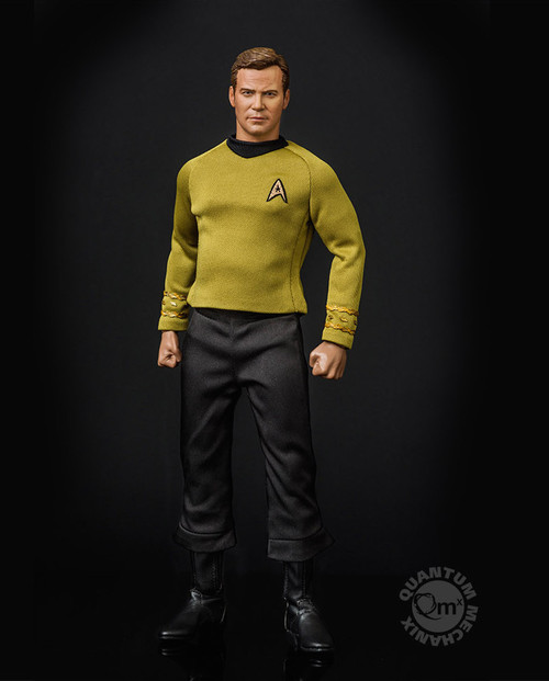 qmx star trek kirk sixth scale figure