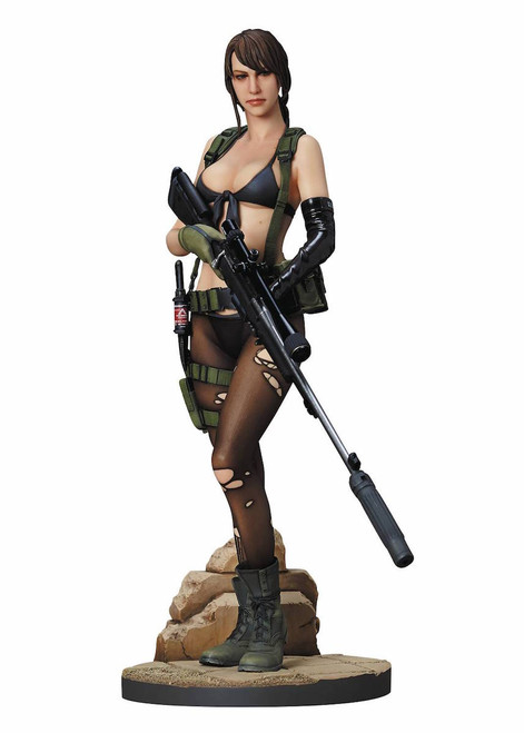 metal gear solid quiet statue