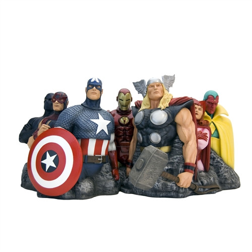 avengers assemble alex ross fine art sculpture