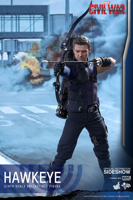 hot toys civil war hawkeye figure