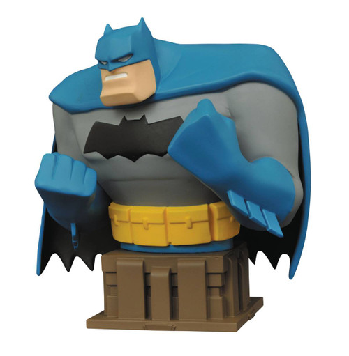 batman animated dark knight bust