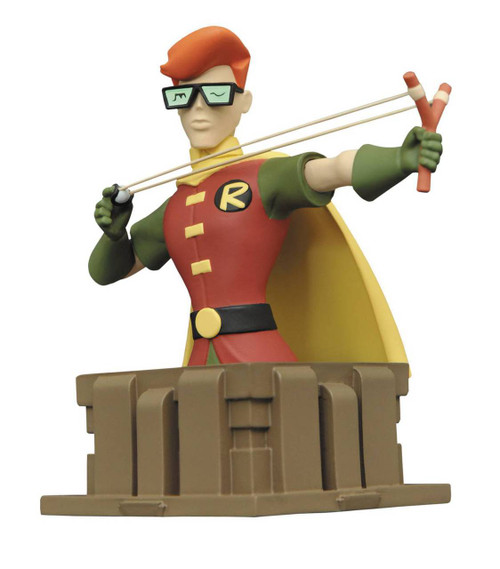 batman animated dark knight carrie bust