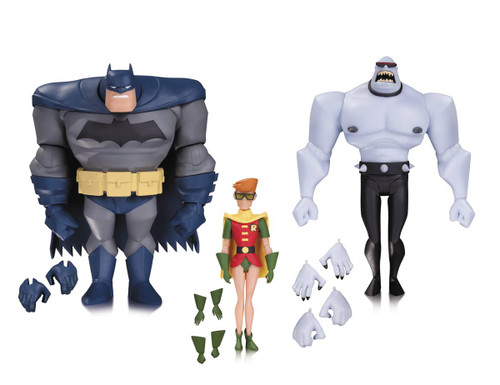 batman animated dark knight 3 pack