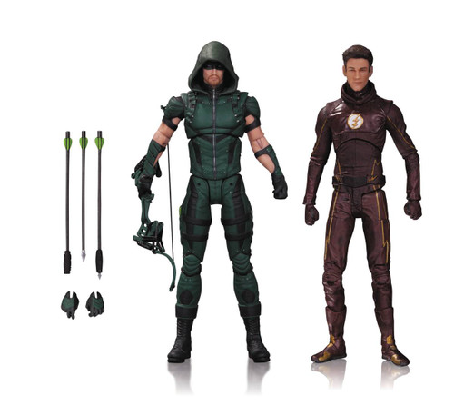 arrow flash action figure 2 pack