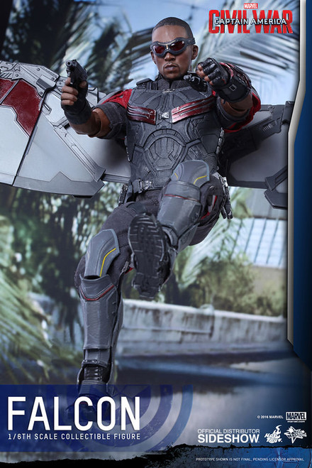 hot toys civil war falcon figure