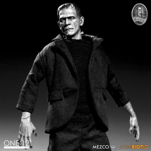 mezco one 12 frankenstein