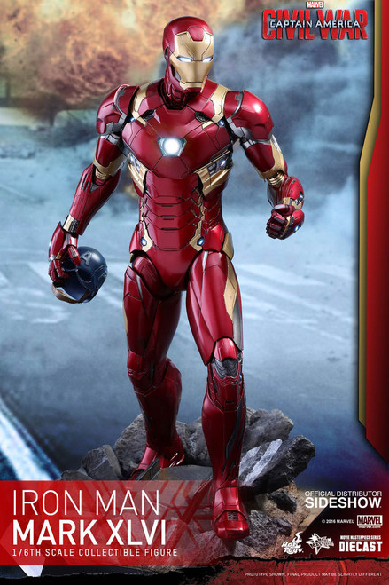hot toys iron man mark xlvi diecast figure