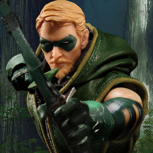 mezco one 12 collective green arrow figure
