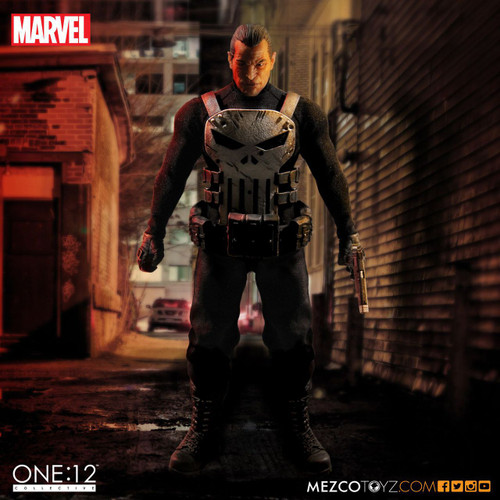 mezco one 12 punisher figure