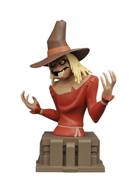 batman animated scarecrow bust