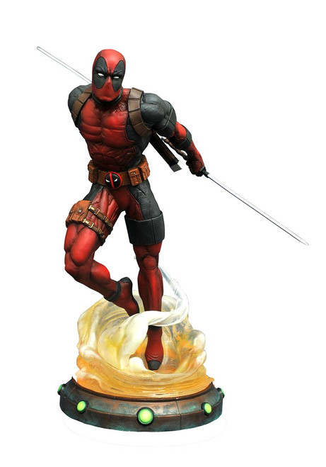 marvel gallery deadpool pvc figure