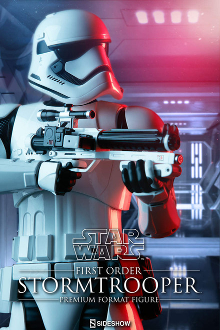 sideshow collectibles first order stormtrooper premium format figure