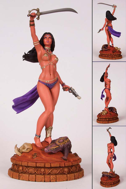 women of dynamite dejah thoris statue