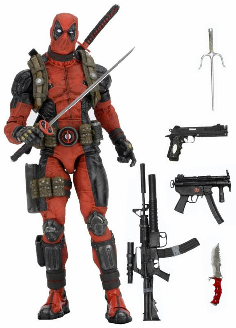 neca 1/4 scale deadpool figure