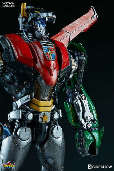 sideshow collectibles voltron maquette