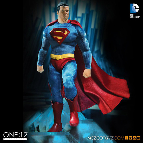 mezco one 12 collective classic superman figure