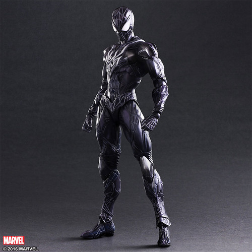 play arts spider-man color