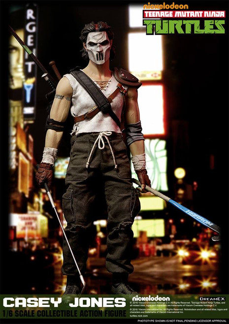 teenage mutant ninja turtles casey jones sixth scale figure dreamex