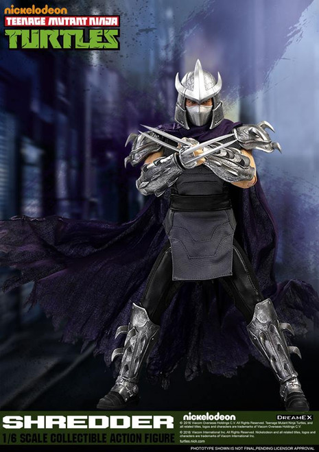 teenage mutant ninja turtles shredder sixth scale figure dreamex