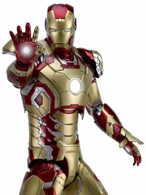 neca iron man mark 42 quarter scale figure