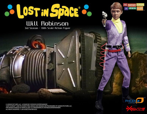 lost in space will robinson 1/6 scale figure