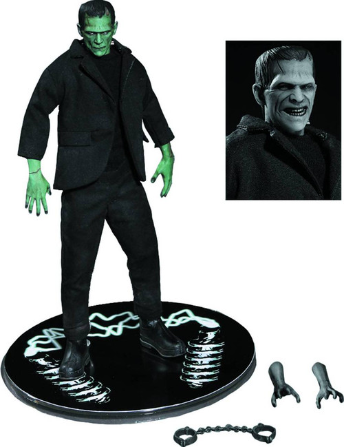 previews exclusive one 12 collective color frankenstein