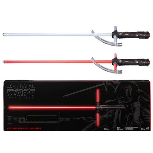 kylo ren force fx lightsaber prop replica