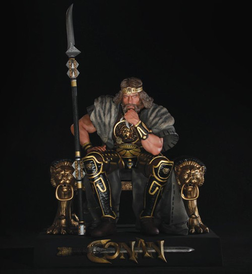 King Conan 1/4 Scale Statue