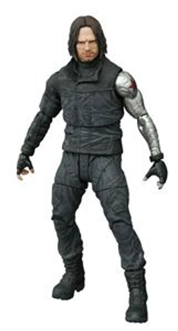 marvel select civil war winter soldier action figure