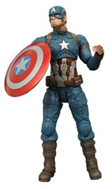 marvel select civil war captain america action figure