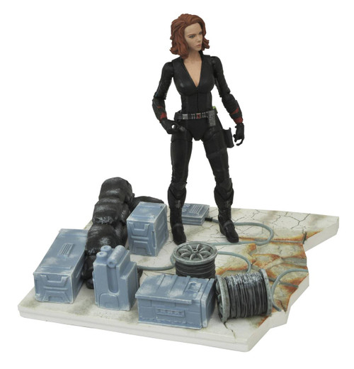 marvel select avengers age of ultron black widow action figure
